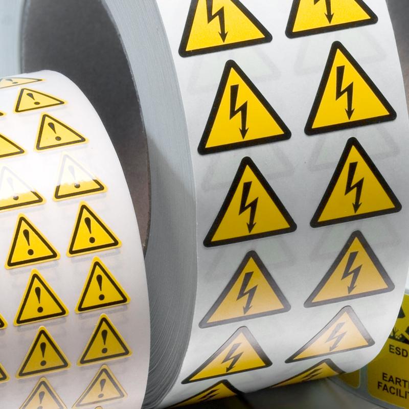 varoitustarra sähkölaitteet